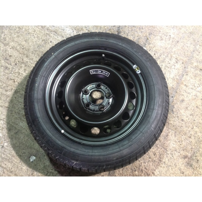 W210 Original Steel Spare Wheel With Brand New P6000