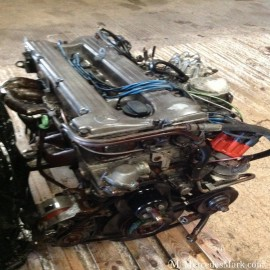 M110 2.8Lt Complete Petrol Engine Less Fuel Injection System and MAF Unit
