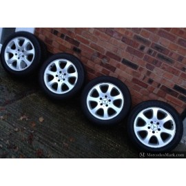 "Genuine Mercedes Fitment Ronal 16"" Staggered Fit Alloy Wheels 209 401 02 02 & 209 400 401 10 02"
