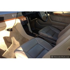 W124 Full Cream Electric Leather Trim