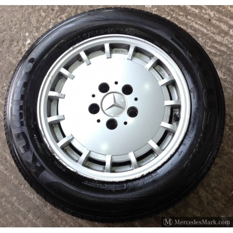 W201 W107 W123 W126 Fondmetal Alloy Wheel Withtyres