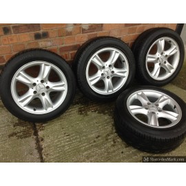 W209 CLK SLK A B C E Class W124 W126 Ronal Staggered Fit Alloy Wheels