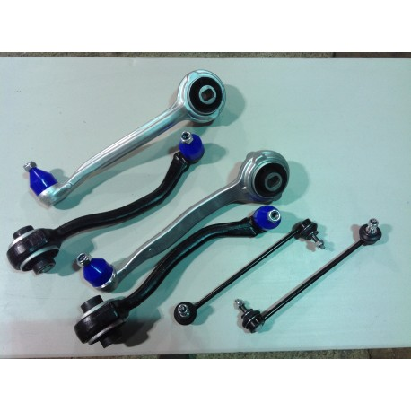 MERCEDES C CLASS 203 309 FRONT UPPER & LOWER SUSPENSION TRACK CONTROL ARMS KIT