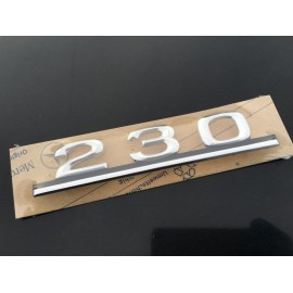 W123 Brand New Last Of Old Stock Boot Emblem Badge 230