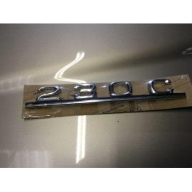 W123 Brand New Last Of Old Stock Boot Emblem Badge 230C