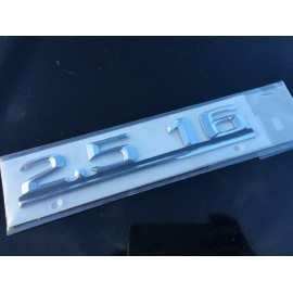 W201 Brand New Last Of Old Stock Boot Emblem Badge 2.5 16