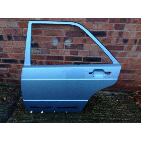 W201 190E, D Passenger Side, left Side Rear Door Shell - Mercedes Mark