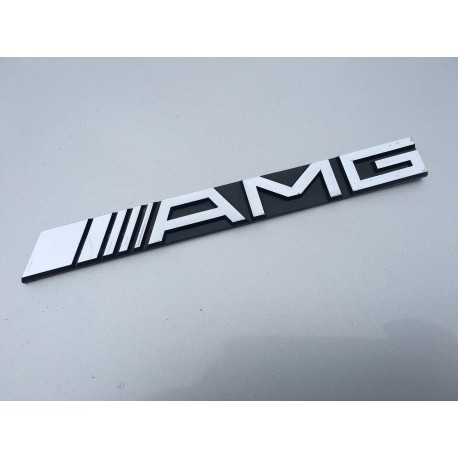 Genuine Amg Boot Emblem Badge Mercedes Mark