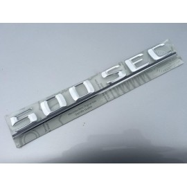 W126 Brand New Last Of Old Stock Boot Emblem Badge 500SEC Push Fit