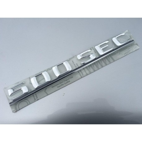 W126 Brand New Last Of Old Stock Boot Emblem Badge 500SEC