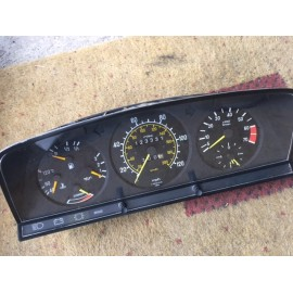 W123 280 CE E & TE Complete Instrument Cluster with Rev Counter