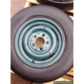 W110 190D Heckflosse Fintail Standard Road Wheel Steel Lemmerz.