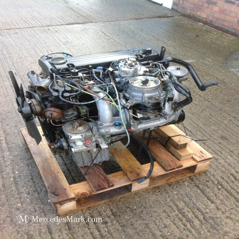 M102-980 Complete Engine with all Ancillaries - Mercedes Mark