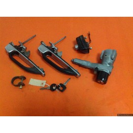 W123CE Coupe Complete Handle & Lock Set