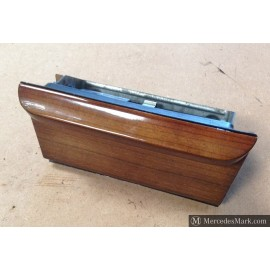 W123 CE E & TE Front Center Zebrano wood Ash Tray And Cigar Lighter Back Lit