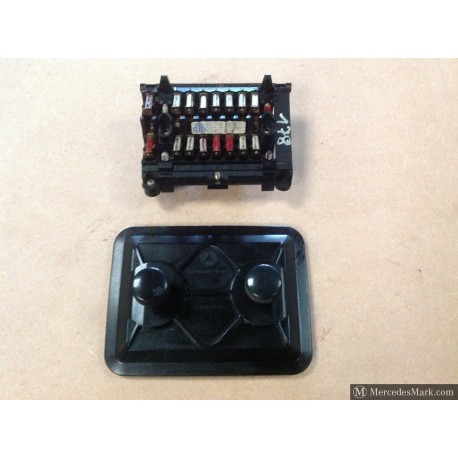W123 CE E & TE Complete Fuse Box With Cover & Layout Card In English & German