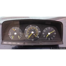 W123 CE E & TE Complete Instrument Cluster without Rev Counter