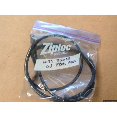 W123 CE E & TE Oil Pressure Gauge Feed Pipework 2.3ltr Engine