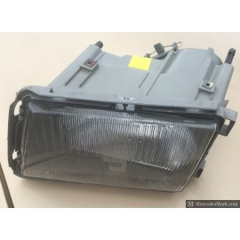 W126 SEC Series II Genuine Mercedes Headlamp Unit Complete RHD Passenger Side
