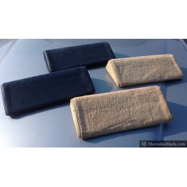 W126 SE & SEL Series I & II Genuine Mercedes Carpeted Rear Foot Rest Bolsters