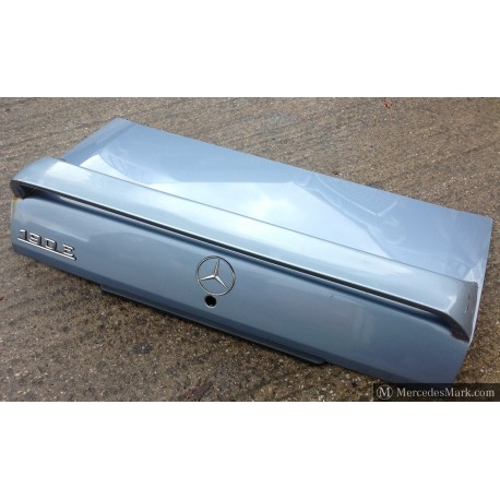 W201 Genuine Mercedes Bare Boot Lid And Flexible Rubber Type Spoiler