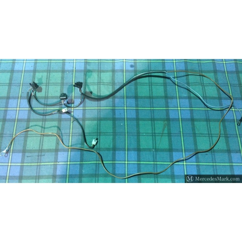 Remarkable W201 Genuine Mercedes Heater Back Light Add On Wiring Loom Wiring Cloud Hisonuggs Outletorg